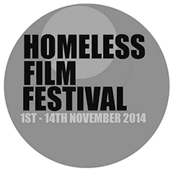 logo homeless film festival