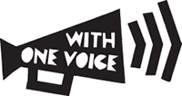 logo with one voice